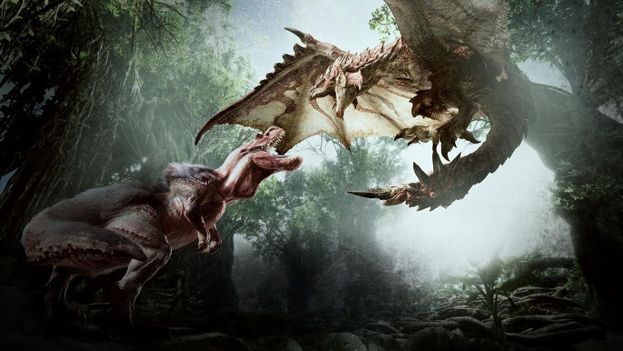 Monster Hunter World muestra extenso gameplay donde cazamos a Anjanath