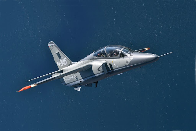 Leonardo contract M-345 Italian Air Force