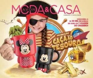 Cadastrar Promoção Avon Moda & Casa Caça Tesouro - Cruzeiro ou 30 Mil em Ouro