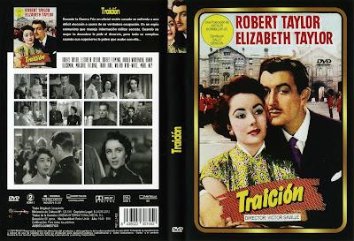 Carátula dvd: Traición 1949