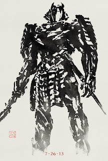 Silver Samurai in The Wolverine 2013 movie Hugh Jackman Logan