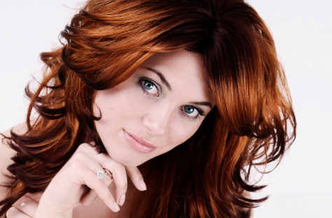 Dark Red Hair Color 2011 Curly Hairstyles