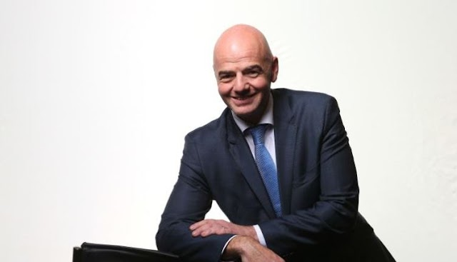 FIFA President, Gianni Infantino Gets  Re-Elected For a Second Tenure