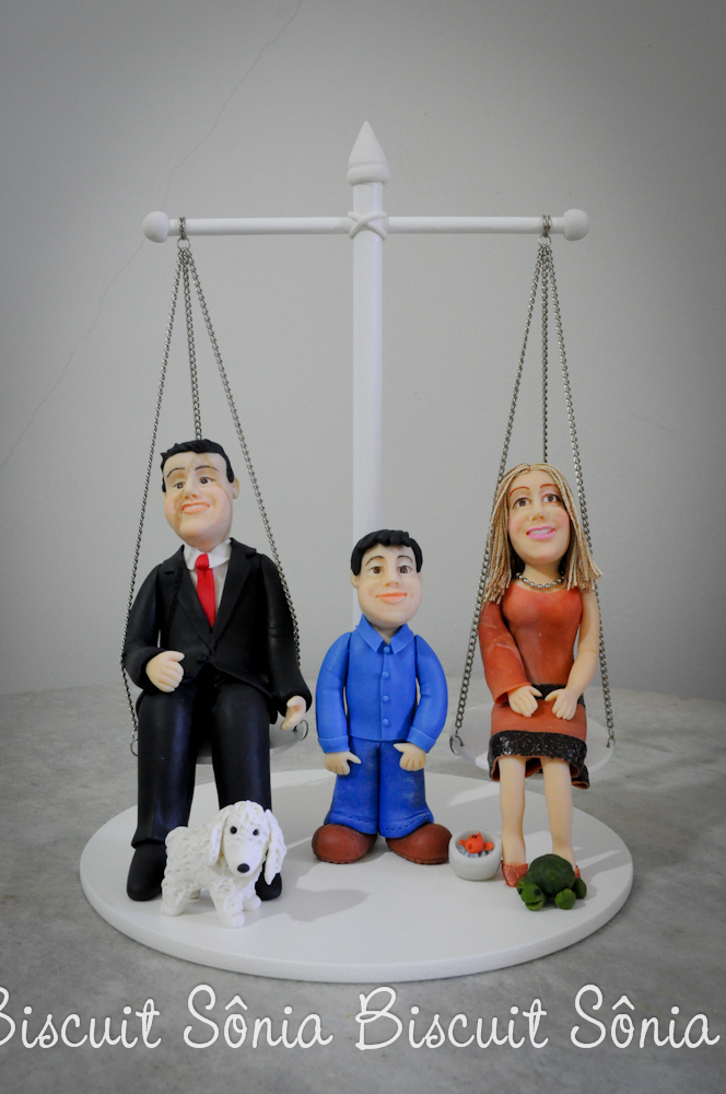 Topo de Bolo - Advogado