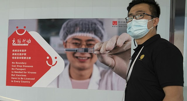 Mexican woman died after a vaccine jab with the Chinese Sinovac.