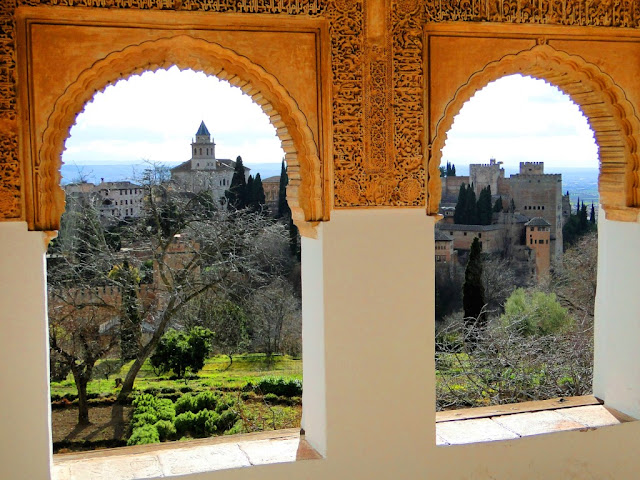 View of La Alhambra from Generalife
