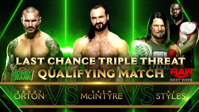 Dois grandes combates são anunciados para o próximo WWE RAW