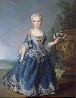 Infante Mariana Victoria of Spain by Alexis Simon Belle, 1725