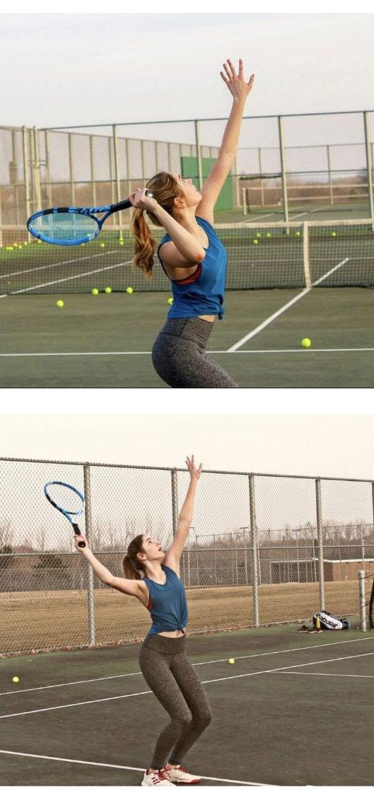 테니스 누나의 미모