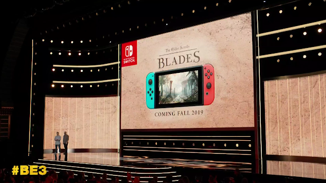 Bethesda E3 2019 The Elder Scrolls Blades Nintendo Switch coming Fall 2019