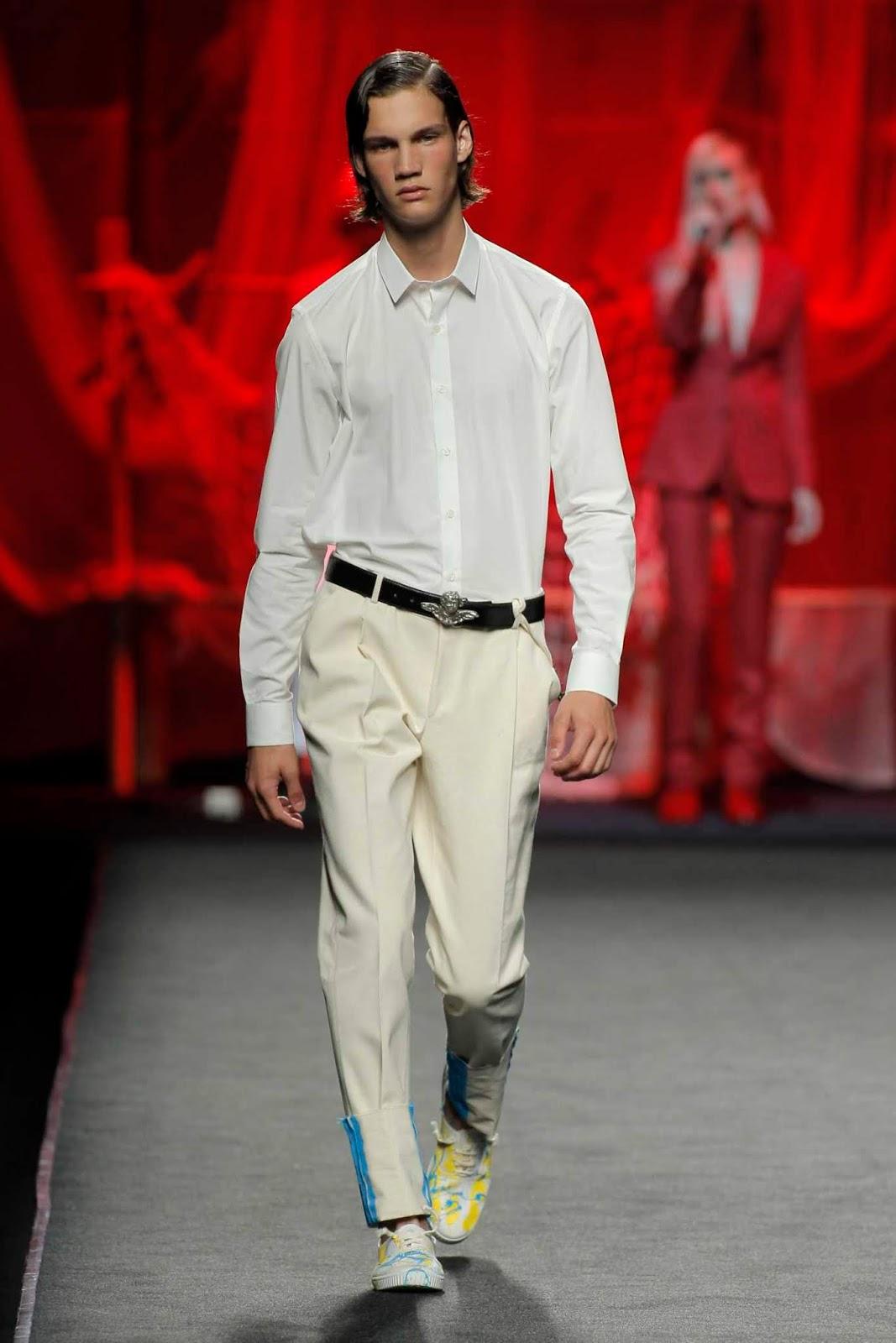 Editorial Fashion Male Model
