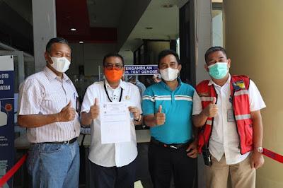 Kepala Otban Tinjau Kesiapan Bandara Hang Nadim Batam untuk Gunakan GeNose