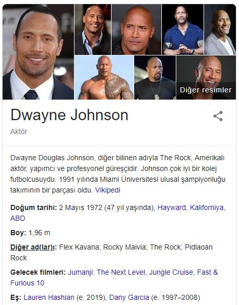 Forbes'e Göre En Çok Kazanan Aktör: Dwayne Johnson
