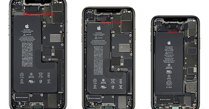 تنزيل خلفيات المكونات الداخلية للايفون 11 Iphone 11 Pro X Ray Wallpaper