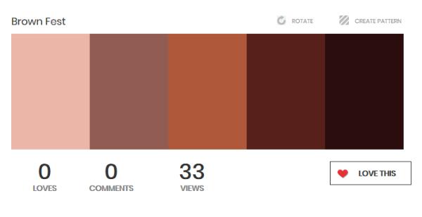 https://www.colourlovers.com/palette/4426762/Brown_Fest