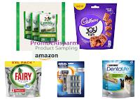 Logo Amazon Product Sampling : ricevi campioni omaggio gratuiti senza spendere nulla!