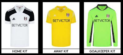 Fulham FC 2020 Kits Dream League Soccer 20
