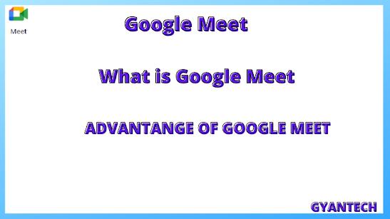 GOOGLE MEET in Hindi