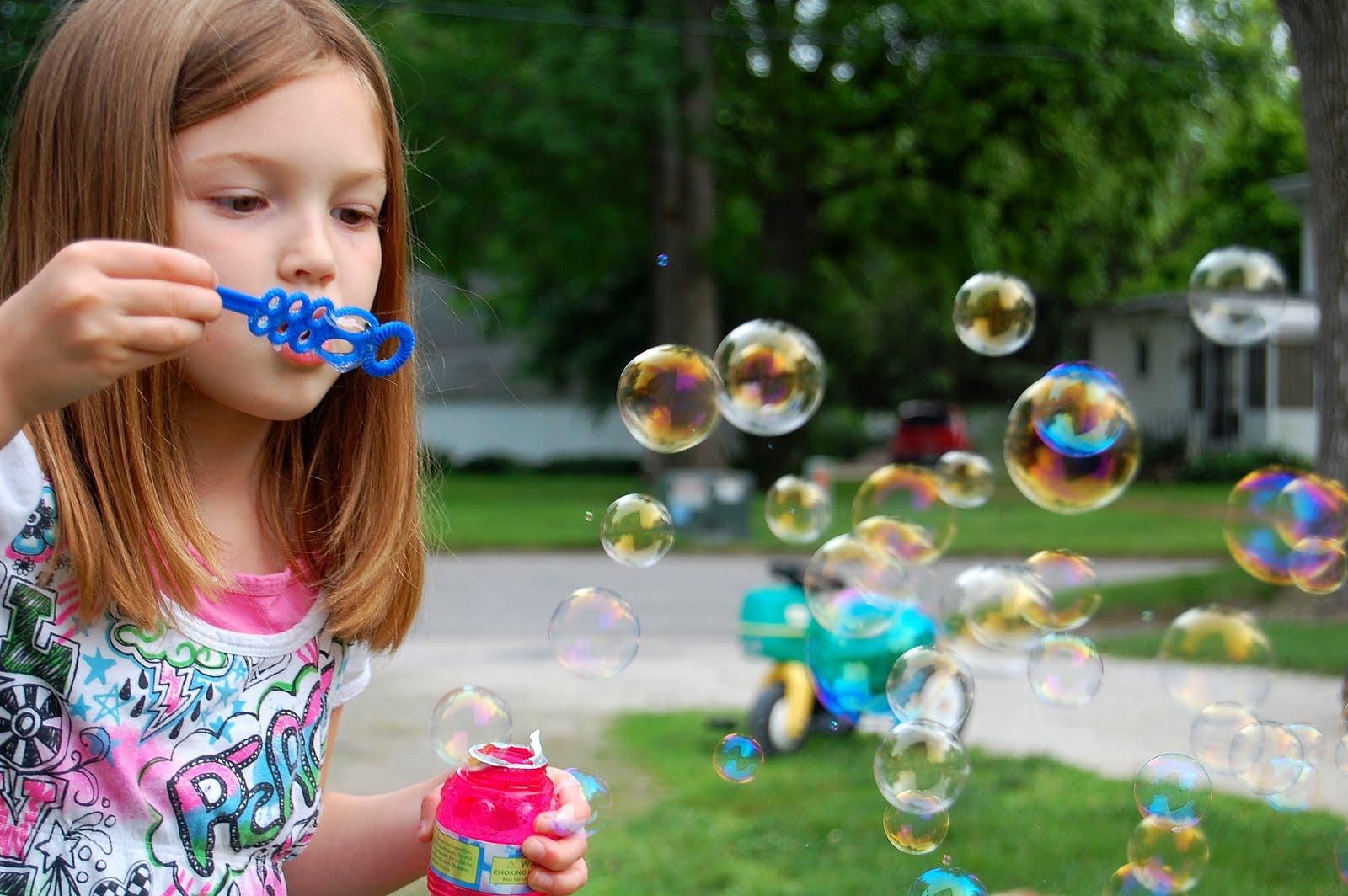 the burdorf family funzone: bubbles