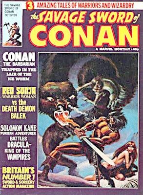 Savage Sword of Conan #24