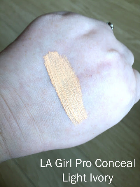 LA Girl Pro Conceal Light Ivory Swatch