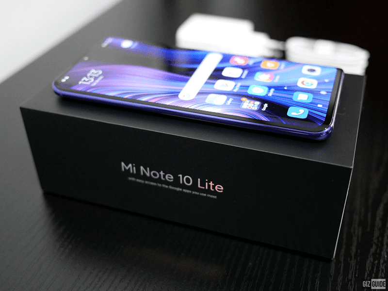 Xiaomi Mi Note 10 Lite Unboxing and First Impressions