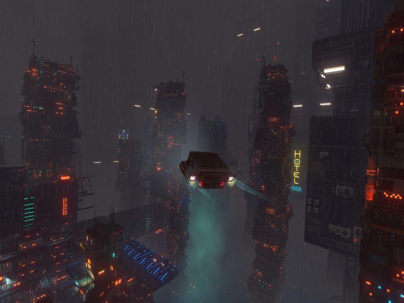 Cloudpunk PC Game Free Download