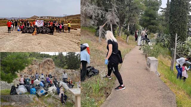 Save Your Hood: 51 εθελοντές σε Άργος και Ναύπλιο μάζεψαν 15.800 λίτρα σκουπίδια