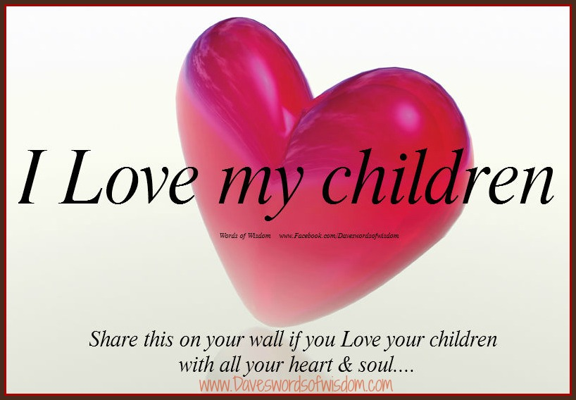 i love my children images -#main