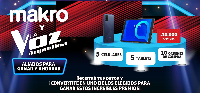 Promo Makro La Voz 2021