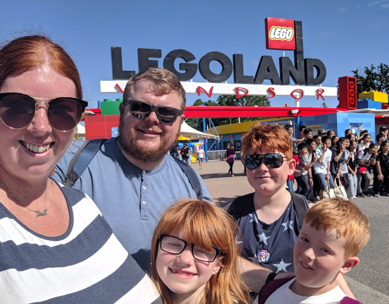 Exploring the Southern Merlin Theme Parks with Tweens  - LEGOLAND selfie