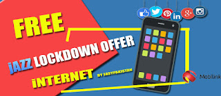 Jazz Lockdown Offer Get Free Jazz Internet | Jazz Free Internet Package