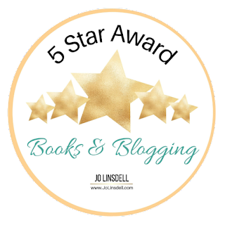 5 Star Award - Jo Linsdell Books and Blogging