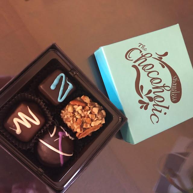 Sweet handcrafted indulgences from The Shameless Chocoholic!