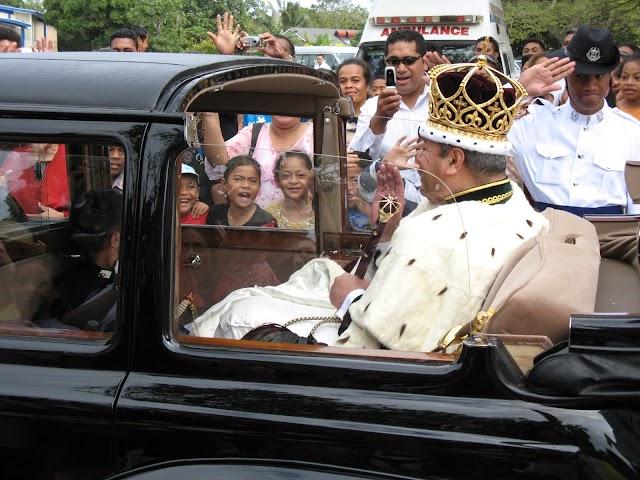 Preparing for the Coronation of King George Tupou V