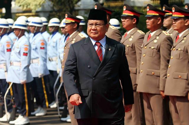 Menhan Prabowo Diundang Jokowi ke Istana