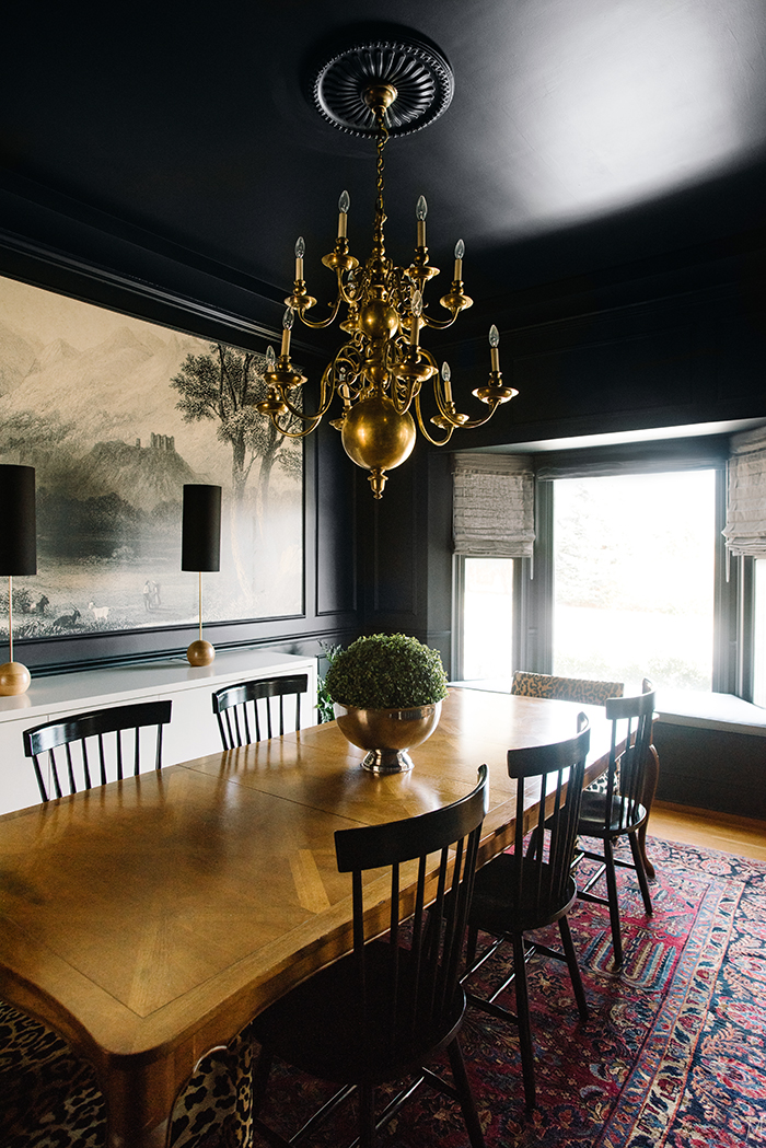 The Finishing Touches on the Dining Room  A Giveaway