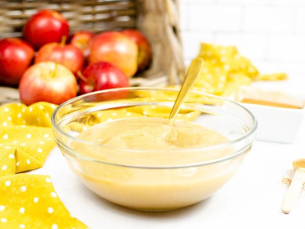 Instant Pot: Cinnamon Applesauce