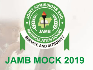 JAMB Mock 2019 - Questions and What to Expect at CBT Centre