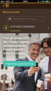 UPS Mobile si aggiorna alla vers 3.3.1