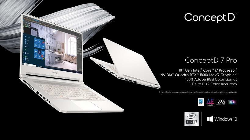 Acer ConceptD PCs