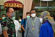 Ketua Umum Gugus Tugas,  Gubernur Sulsel Prof HM Nurdin Abdullah Melaksanakan Vicon dalam Rangka Percepatan Penanganan Covid-19