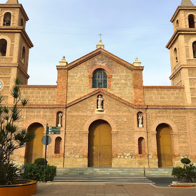 Torrevieja Immaculate Conception church - Nov 2017
