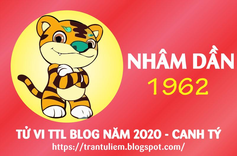 TỬ VI TUỔI NHÂM DầN 1962 NĂM 2020