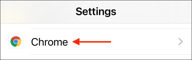 """اضغط على """"Chrome""""."""