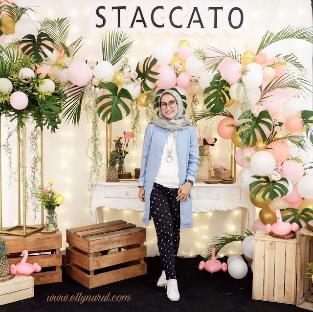 everywhere is my runway with staccato