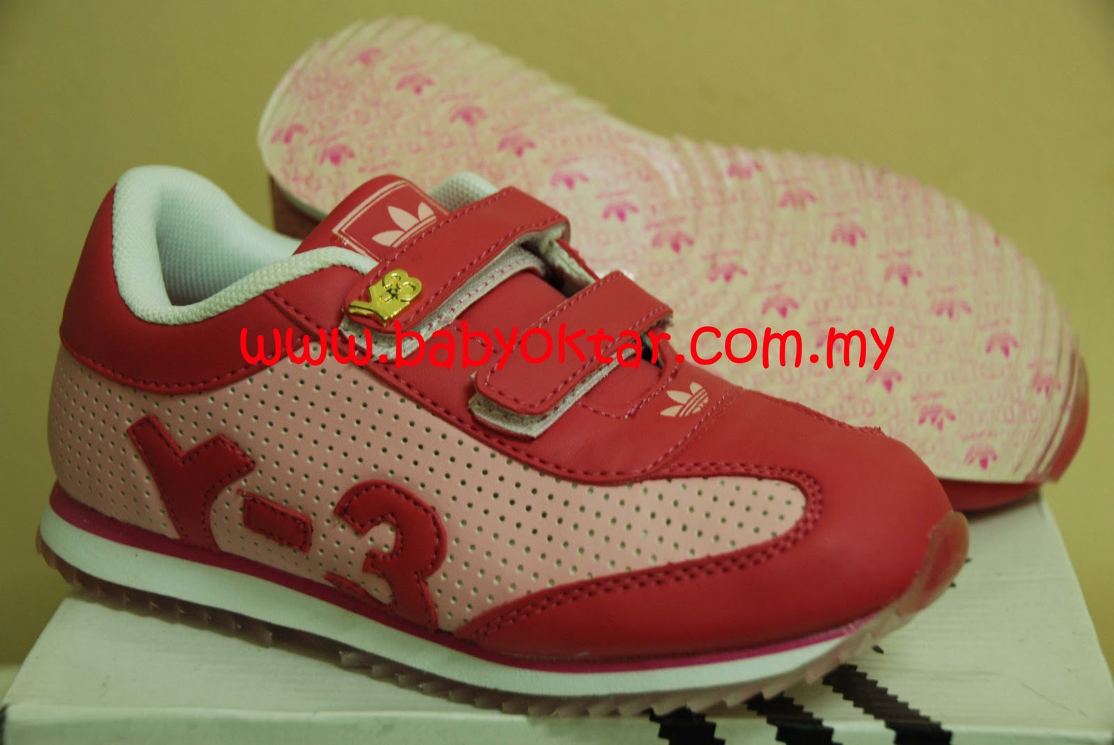 8674899a4821 BabyOktar Closet  Kasut Sport ADIDAS Y-3 Pink