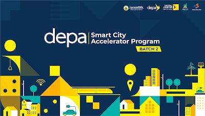 Depa จับมือ Techsauce เปิดตัวโครงการ depa Smart City Accelerator Program Batch 2  ติดปีกดิจิทัลสตาร์ทอัพ พัฒนาโซลูชันตอบโจทย์พื้นที่ ยกระดับสู่เมืองอัจฉริยะน่าอยู่