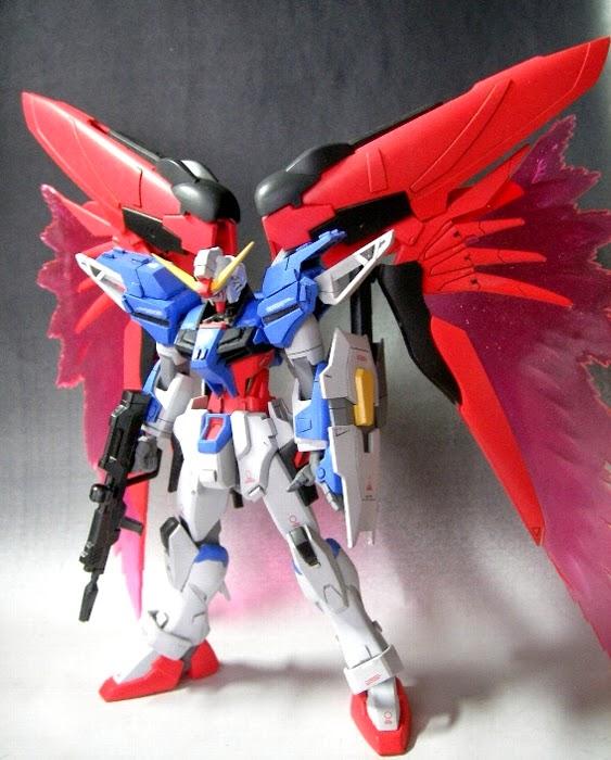 Custom Build 1 144 Master Destiny Gundam Gundam Kits