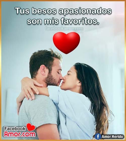 imágenes bonitas de besos amor